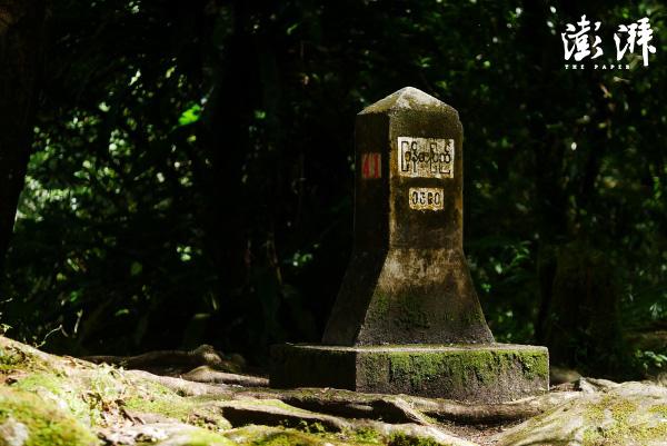 中缅边境的41号界碑