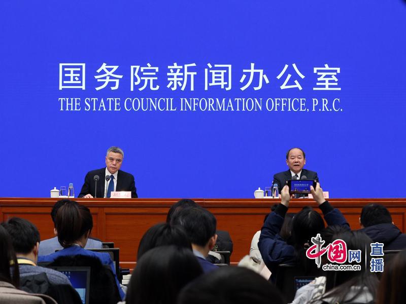国新办就2019年国民经济运行情况举行发布会。 中国网 图
