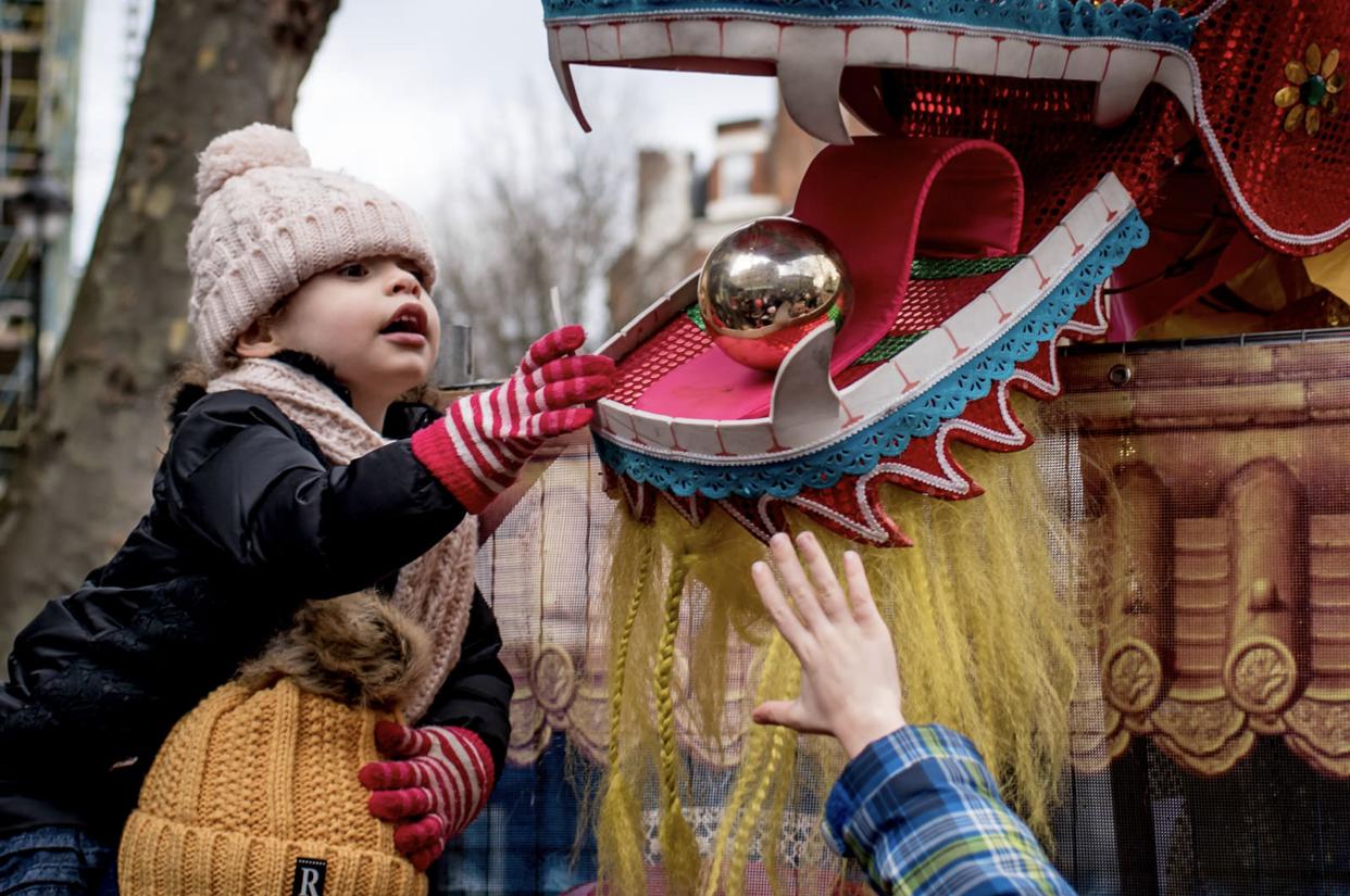 在伦敦庆祝中国春节 @matt_badenoch