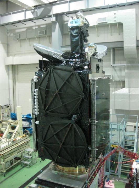 """测试中的""""煌""""军用通信卫星"""
