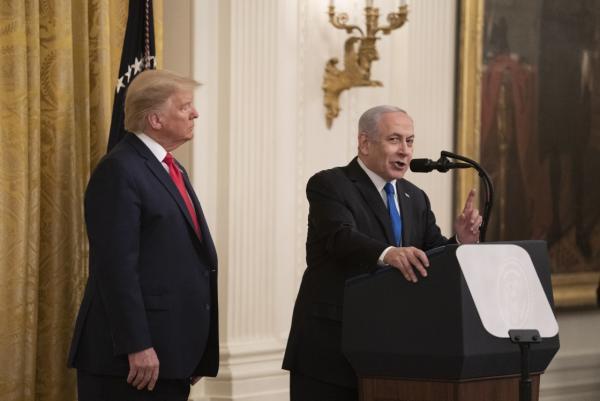 """川普公布""""中东和平计划"""",巴勒斯坦:耶路撒冷不用于买卖"""
