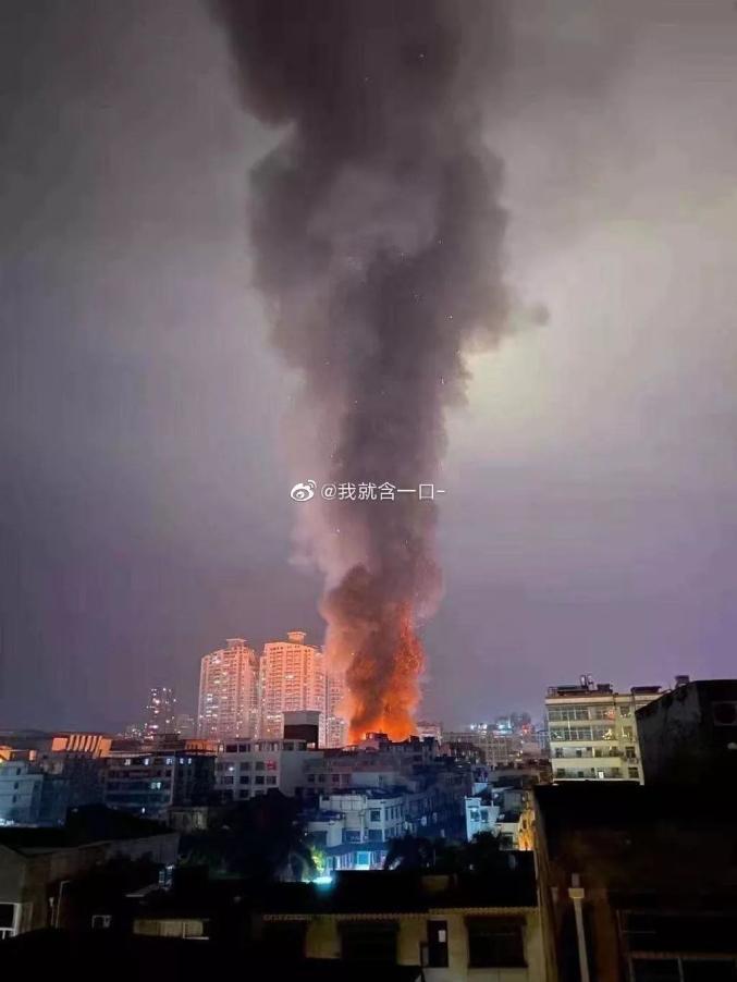 引发全国关注!莆田文献步行街城南市场突发大火!官方发布通报!