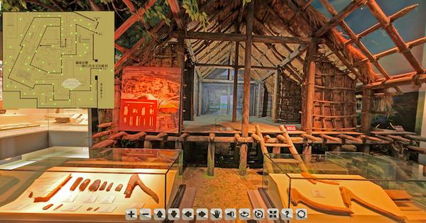 武林馆的虚拟展厅展示
