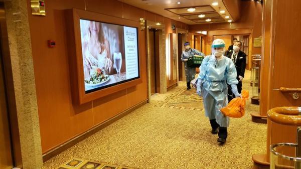 """日本政府:""""钻石公主号""""新增确诊41人,其中21人为日籍"""