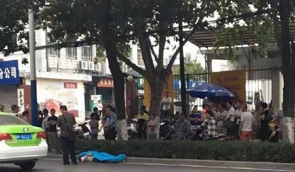 陕西汉中文明小区兴汉路皇后酒店对面 男子被传销组织打死扔路边