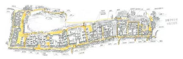 陈向宏所绘的乌镇西栅设计稿图片