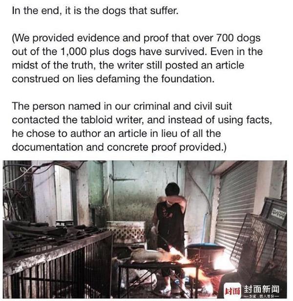 美籍华裔富商玉林救狗遭外媒质疑作秀:被指三分之二犬只病死 - 梅思特 - 你拥有很多,而我,只有你。。。