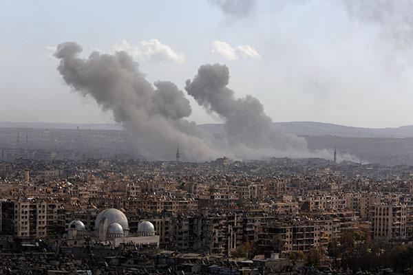 中俄投反对票否决叙利亚阿勒颇停火草案:仍存分歧