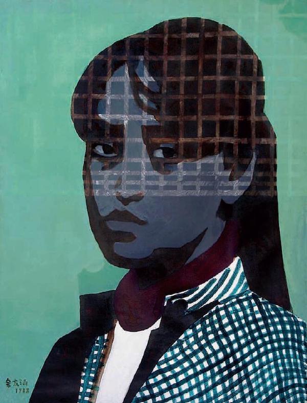 上海第一代当代艺术家余友涵:艺术得想办法推动一下社会图片