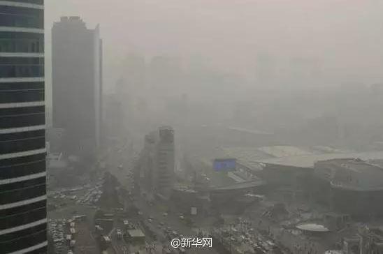 韩媒体称中国雾霾影响韩国储,该国官员不认可