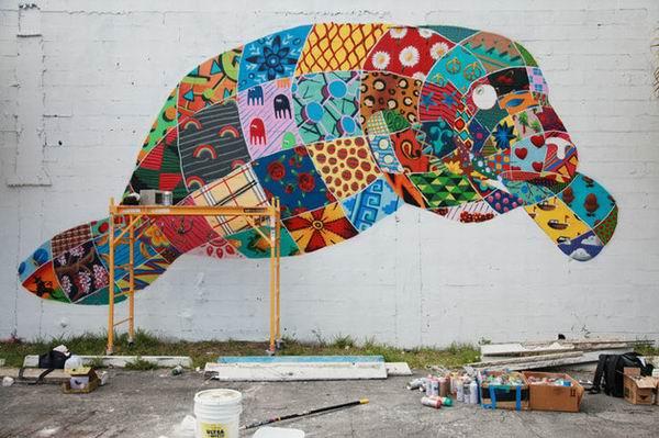 壁画艺术之旅为濒危动物发声 - 梅思特 - 你拥有很多,而我,只有你。。。