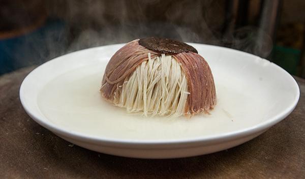 此菜还有讨口彩的传统习俗
