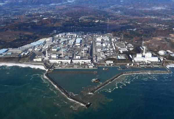 福岛�9o��'��jyf_当地时间2016年11月22日,日本福岛,福岛核电站的航拍图显示核电站并