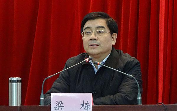 安徽省阜阳市原副市长梁栋涉嫌受贿被检察机关逮捕
