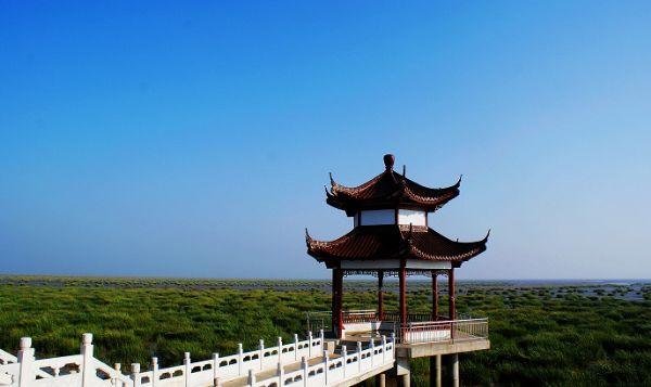南通如东县小洋口风景区风光图.