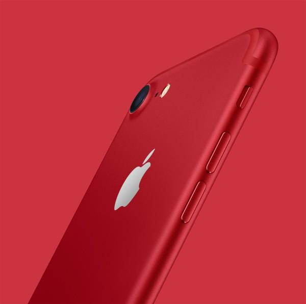 苹果推iPhone7/Plus红色版本