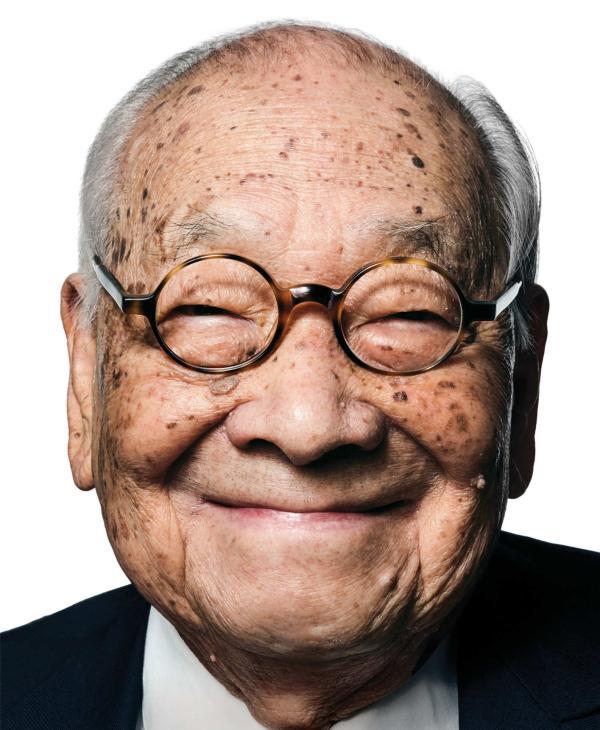 祝贺贝聿铭老先生100周年寿辰 - 晨枫 - 晨枫小苑