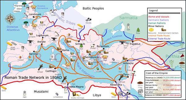 即从红海穿越阿拉伯海到达印度半岛的航线创通的一个