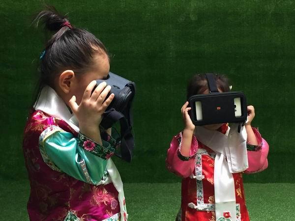 带娃学历史的新去处:被高科技复原的圆明园展