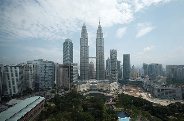 吉隆坡的标志性建筑——双子塔里有大型儿童