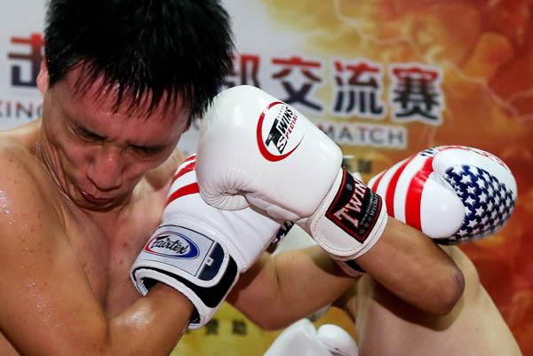 特写丨脑瘫儿成职业拳手:一秒打6拳敢立生死状敢战邹市明