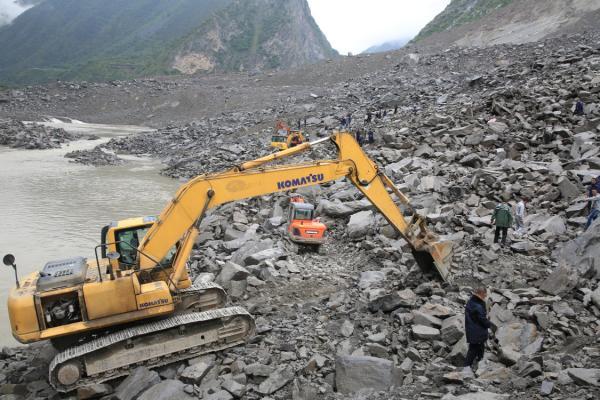四川茂县山体滑坡已堵塞岷江支流,专家提醒注意堰塞湖威胁
