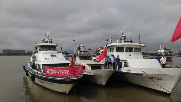 """从捕鱼人变""""护渔人"""",安徽安庆6渔民协助渔政部门巡护江豚 - 梅思特 - 你拥有很多,而我,只有你。。。"""