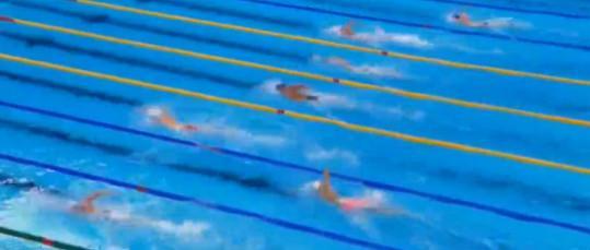 孙杨带病出战1500米自由泳预赛,排名仅列小组