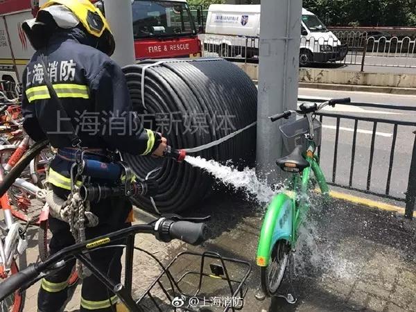 共享电单车自燃现场有惊无险 电单车有险不保自燃