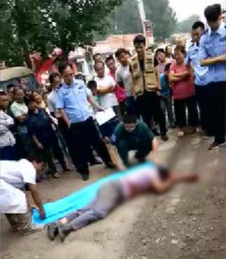 山东济阳警方:被打浑身是血男子涉其他犯罪,并非入村偷小孩