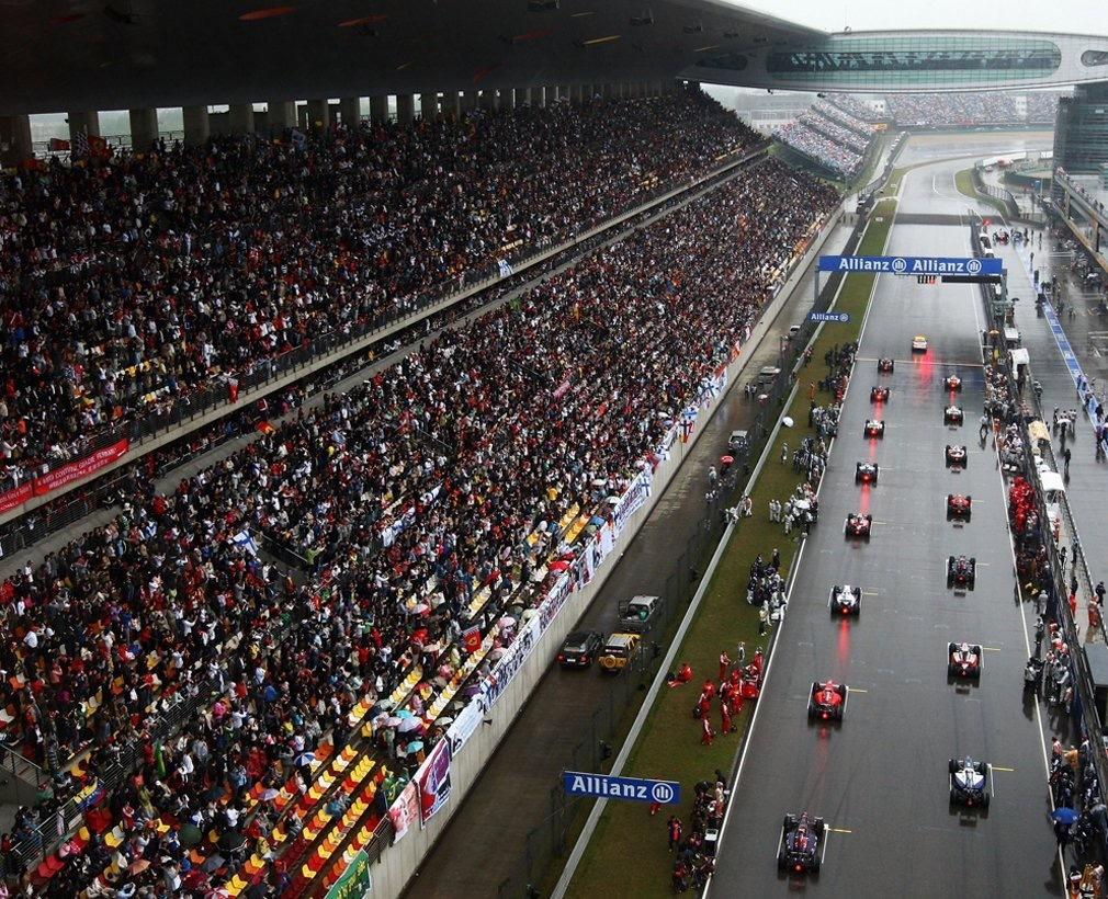 中国站是F1的重要组成部分。