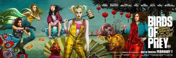 """失意的""""小丑女"""",DC似乎真不会拍组队型电影宁荣荣被驯服的章节"""
