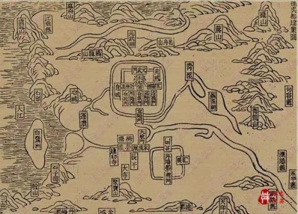 孙吴都建业图