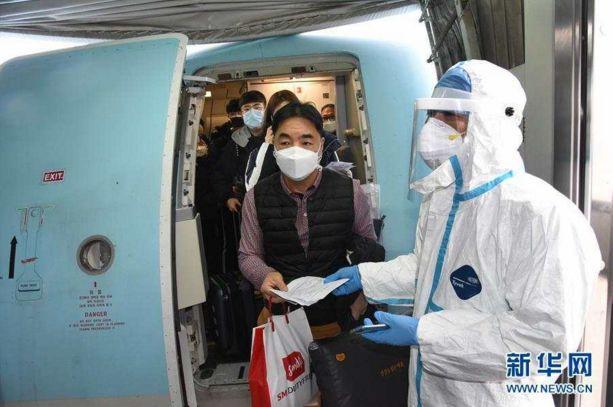 青岛机场回应:进港旅客中,韩籍不到20%