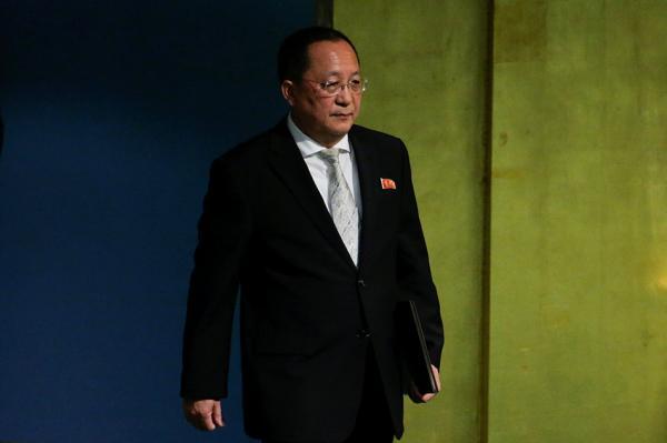 联合国秘书长见朝鲜外相,讨论降低安理会制裁决议可能性