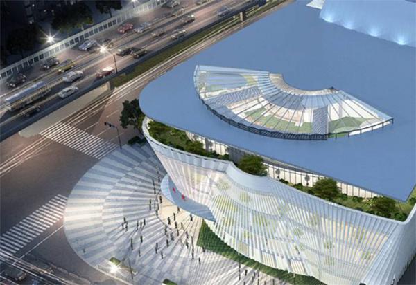 上海文体设施新风景|宛平剧场:宛如徐徐展开的
