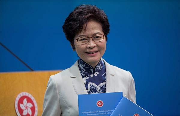 林郑月娥发表《香港家书》:关注特殊群体社会福利问题