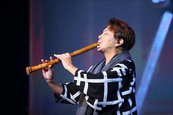 中日美演奏家同台,告白中国古乐器尺八