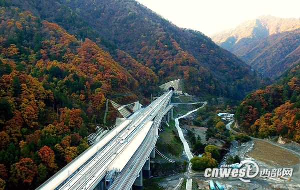 西成高铁进入开通前的全面验收阶段西安至成都缩至3小时