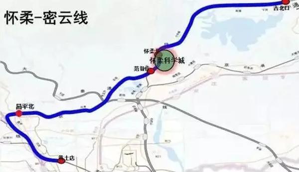 """""""长城脚下的动车组""""交付,将担纲北京市郊铁路怀柔"""