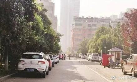 西苑小学凭空变出停车场良庆区路百灵小学图片