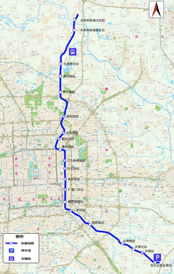 17号线规划图_北京地铁17号线拟2021年全线开通,为城区最长在建线路_中国政库 ...