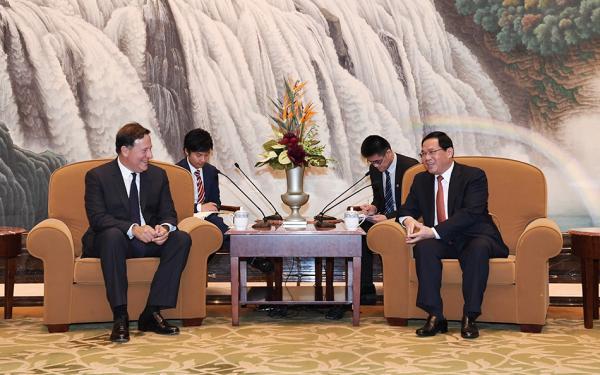 上海市委书记李强会见巴拿马总统:将进一步拓展交流领域