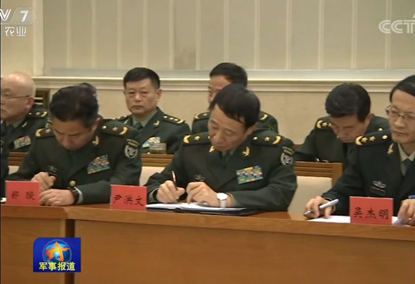 尹洪文少将已晋升副战区级曾任军委政治工作