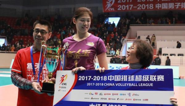 单场45分破朱婷纪录,这个17岁小将是女排联赛最大惊喜
