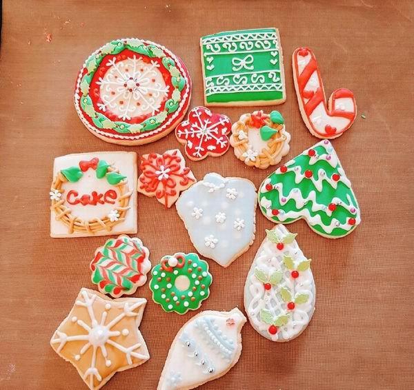 圣诞节主题甜品创意,希望能让你们做得顺手