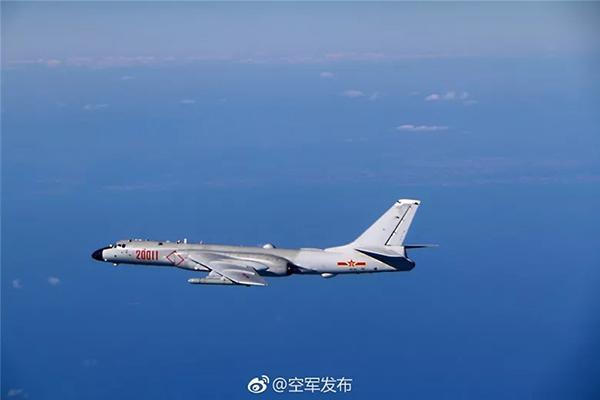 中国空军最近开展一系列海上方向实战化军事训练有何深意?