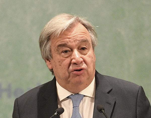 联合国秘书长新年致辞发红警:核武忧虑达冷战