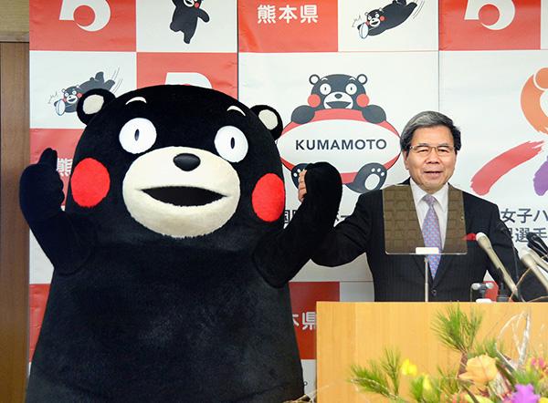 日本熊本解禁海外企业制造销售熊本熊商品