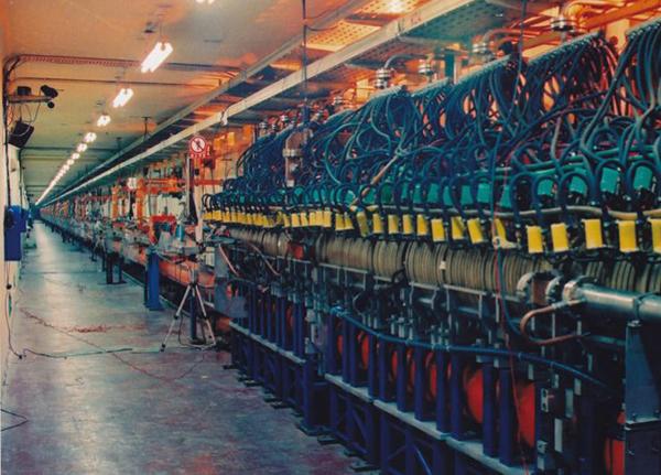 正负电子对撞机_北京正负电子对撞机(bepc)的直线注入器 中科院高能物理所